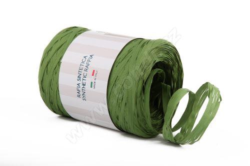 Stuha rafie matná 6802 5mm x 200m - 11 olivová