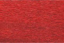 Krepový papír role 50cm x 2,5m - tmavě červený 583